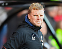 AFC Bournemouth Manager Eddie Howe during AFC Bournemouth vs Wolverhampton Wanderers, Premier League Football at the Vitality Stadium on 23rd February 2019