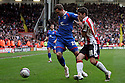 Chris Beardsley of Stevenage and Ryan Flynn of Sheffield United tussle. - Sheffield United v Stevenage - npower League 1 - Bramall Lane, Sheffield  - 28th April, 2012. © Kevin Coleman 2012
