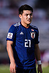 Doan Ritsu of Japan looks on during the AFC Asian Cup UAE 2019 Group F match between Japan (JPN) and Turkmenistan (TKM) at Al Nahyan Stadium on 09 January 2019 in Abu Dhabi, United Arab Emirates. Photo by Marcio Rodrigo Machado / Power Sport Images