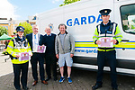Crime Prevention Week : Pictuted in Listowel on Friday last were Garda Paula Cregan, Supertindent Dan Keane, Listowel, Michael Gaine, Maurice Hannon & Garda Tom O'Sullivan giving out information on crime prevention.