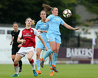 Georgia Stanway of Manchester City WomenAbbie McManus of Manchester City Women during Arsenal Women vs Manchester City Women, FA Women's Super League FA WSL1 Football at Meadow Park on 12th May 2018