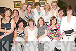 Reunion: Together again at the Neodata Reunion in the Arms Hotel, Listowel, on Friday night were (seated l-r) Eleanor Fitzgerald and Mary Sheehan, Glin, Phil Gildea, Tarbert, Ann Heaphy, Ballylongford, Geraldine Brosnan, Listowel, Eilish Enright, Glin, Margaret Moore and Joan Maloney, Listowel. (Back l-r) Mags Healy, Listowel, Sal Walsh, Ballylongford, Margaret Henchy, Listowel, Peg Collins, Abbeyfeale, and Mary ODonoghue, Listowel..