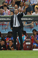 27.08.2012 SPAIN -  La Liga 12/13 Matchday 2th  match played between Atletico de Madrid vs Athletic Club de Bilbao (4-0) with hat-trick Radamel Falcao at Vicente Calderon stadium. The picture show  Diego Pablo Simeone coach of Atletico de Madrid