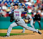 6 March 2010: New York Mets' pitcher Travis Blackley in action during a Spring Training game against the Washington Nationals at Space Coast Stadium in Viera, Florida. The Mets defeated the Nationals 14-6 in Grapefruit League action. Mandatory Credit: Ed Wolfstein Photo