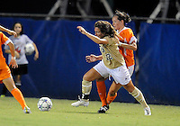 Florida International University women's soccer player Kelly Ann Hutchinson (12) plays against the University of Florida on August 21, 2011 at Miami, Florida. Florida won the game 2-0. .