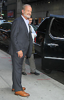 August 20, 2012 Kelsey Grammer at the LateShow with David Letterman to talk about Staz 's series Boss in New York Credit:© RW/MediaPunch Inc. /NortePhoto.com<br />