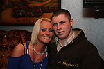 Denise and Paul celebrating New Years Eve in Hogs and Heiffers...(Photo credit should read www.newsfile.ie)....This Picture has been sent you under the conditions enclosed by:.Newsfile Ltd..The Studio,.Millmount Abbey,.Drogheda,.Co Meath..Ireland..Tel: +353(0)41-9871240.Fax: +353(0)41-9871260.GSM: +353(0)86-2500958.email: pictures@newsfile.ie.www.newsfile.ie.