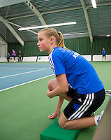20-01-13, Tennis, Rotterdam, Wildcard for qualification ABNAMROWTT, Ballgirl  Suzan Lamens
