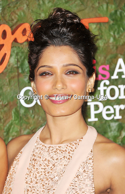 Freida Pinto  arriving at the Wallis Annenberg Center for the Performing Arts in Beverly Hills