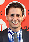 Benj Pasek.attending the Off-Broadway Opening Night Performance of Second Stage Theatre's 'Dogfight' at the Second Stage Theatr in New York City.