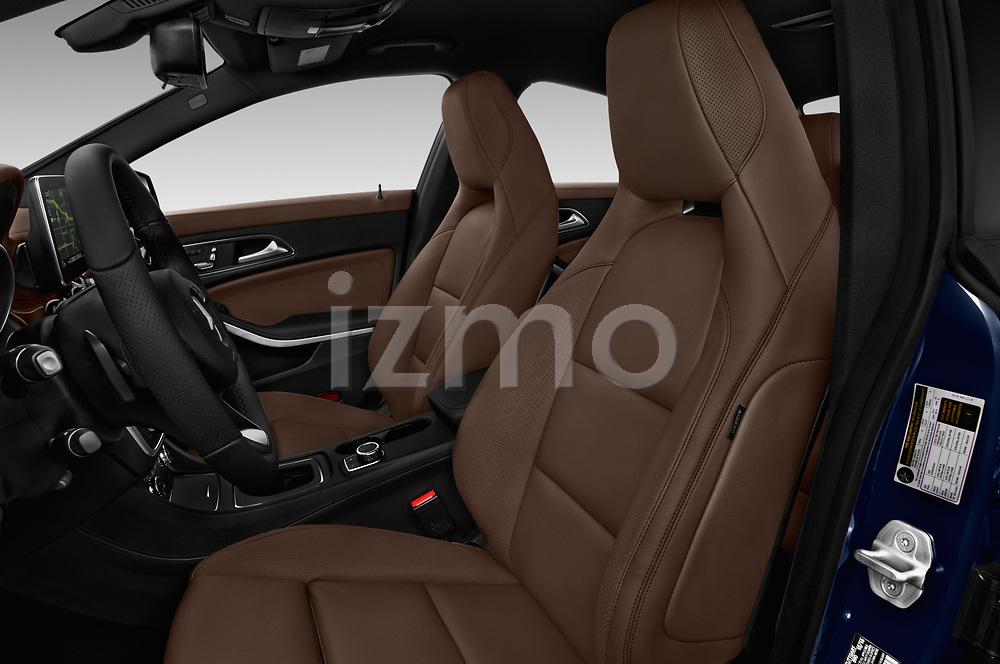 Front seat view of 2017 Mercedes Benz CLA CLA 4 Door Sedan Front Seat  car photos