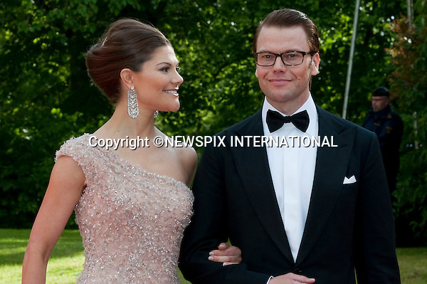 "CROWN PRINCESS VICTORIA and DANIEL WESTLING.Pre-Wedding Dinner hosted by the Government of Sweden in honour of H.R.H Crown Princess Victoria and Mr Daniel Westling at Eric Ericsonhallen was attended by Royalty from all over the world. Stockholm_18/06/2010..Mandatory Photo Credit: ©Dias/Newspix International..**ALL FEES PAYABLE TO: ""NEWSPIX INTERNATIONAL""**..PHOTO CREDIT MANDATORY!!: NEWSPIX INTERNATIONAL(Failure to credit will incur a surcharge of 100% of reproduction fees)..IMMEDIATE CONFIRMATION OF USAGE REQUIRED:.Newspix International, 31 Chinnery Hill, Bishop's Stortford, ENGLAND CM23 3PS.Tel:+441279 324672  ; Fax: +441279656877.Mobile:  0777568 1153.e-mail: info@newspixinternational.co.uk"