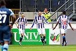 Nederland, Heerenveen, 6 mei 2012.Seizoen 2011/2012.Eredivisie.Heerenveen-Feyenoord 2-3.Bas Dost van Heerenveen juicht na het scoren van de 1-0