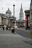 Very quiet London streets during Coronavirus outbreak in London, England on March 8, 2020.<br /> CAP/JOR<br /> ©JOR/Capital Pictures