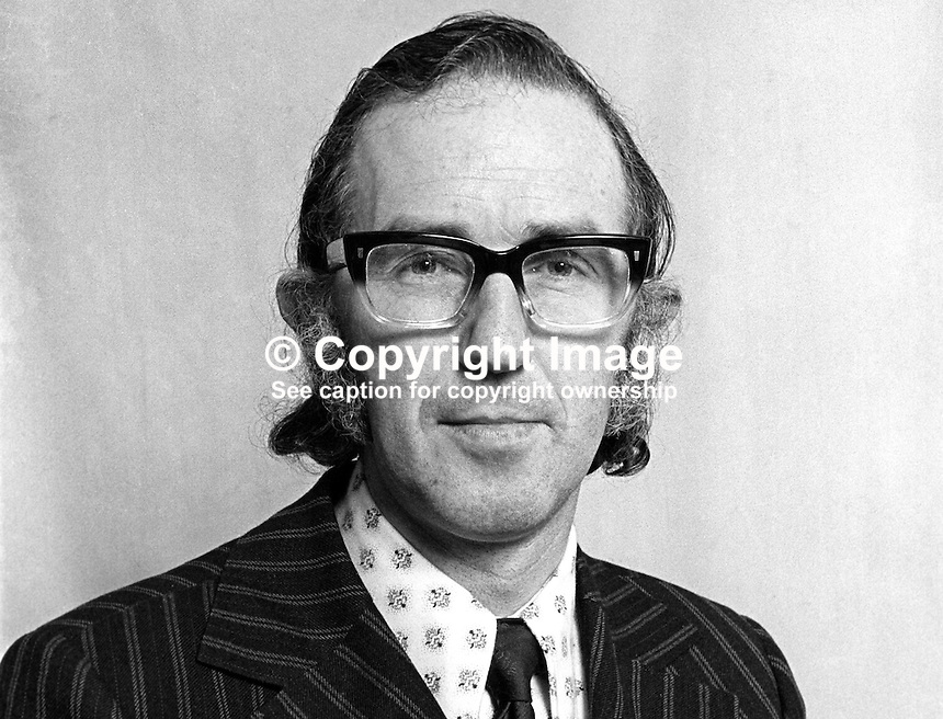 Senator Brendan Halligan, secretary, Labour Party, Rep of Ireland, 1975030000174b.<br />