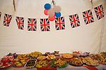 Royal Jubilee village celebrations June 2012, Shottisham, Suffolk, England