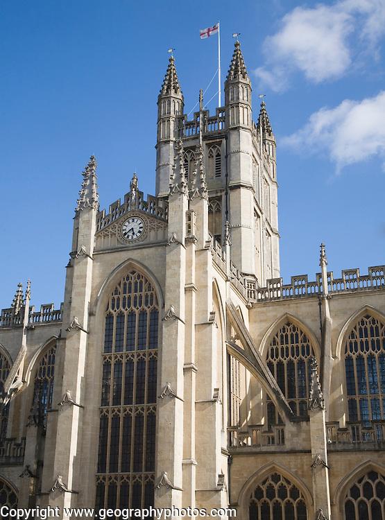 Abbey church of Bath, Somerset, England