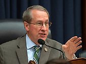 "United States Representative Bob Goodlatte (Republican of Virginia), Chairman, US House Committee on the Judiciary, listens as FBI Deputy Assistant Director Peter Strzok testifies during a joint hearing of his committee and the US House Committee on Oversight and Government Reform on ""Oversight of FBI and DOJ Actions Surrounding the 2016 Election"" on Capitol Hill in Washington, DC on Thursday, July 12, 2018. <br /> Credit: Ron Sachs / CNP<br /> (RESTRICTION: NO New York or New Jersey Newspapers or newspapers within a 75 mile radius of New York City)"