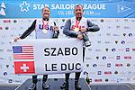 Podium:<br /> 1 - Bow n: 9, Skipper: George Szabo, Crew: Patrick Ducommun, Sail n: USA