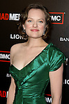 ELISABETH MOSS. Arrivals to the premiere of AMC's Mad Men Season 4 at Mann Chinese 6 Theatre. Hollywood, CA, USA. July 20, 2010.