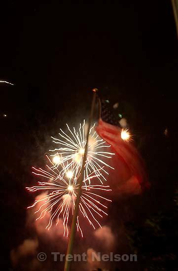 fireworks. Stadium of Fire, Saturday night at LaVell Edwards Stadium, Provo.<br />