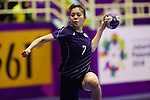 Asuka Fujita (JPN), <br /> AUGUST 30, 2018 - Handball : <br /> Women's Bronze Medal Match <br /> between Japan 43-14 Thailand <br /> at GOR Popki Cibubur <br /> during the 2018 Jakarta Palembang Asian Games <br /> in Jakarta, Indonesia. <br /> (Photo by Naoki Nishimura/AFLO SPORT)