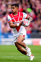 Picture by Alex Whitehead/SWpix.com - 30/03/2018 - Rugby League - Betfred Super League - St Helens v Wigan Warriors - Totally Wicked Stadium, St Helens, England - St Helens' Ben Barba in action.