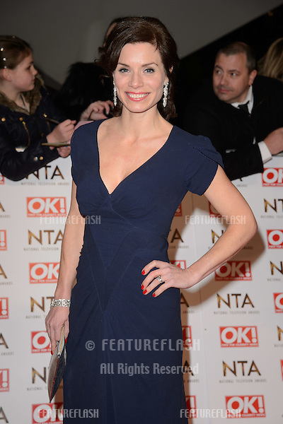 Anna Acton arrives for the National TV Awards 2015 at the O2 Arena, Greenwich London. 21/01/2015 Picture by: Steve Vas / Featureflash