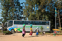 ICT bus in Kabaya, Rwanda. (Photo by Tadej Znidarcic)