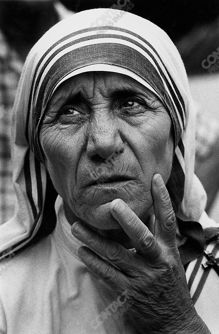 Mother Teresa in Bangladesh, 1972.