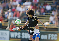 Eriko Arakawa. FC Gold Pride defeated the Boston Breakers, 2-1, in their home opener on April 5, 2009 at Buck Shaw Stadium in Santa Clara, CA.