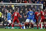 05.12.2018 Rangers v Aberdeen: Scott McKenna scores for Aberdeen
