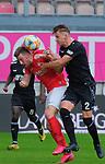 Fussball - 3.Bundesliga - Saison 2019/20<br /> Kaiserslautern -  Fritz-Walter-Stadion 20.6.2020<br /> 1. FC Kaiserslautern (fck) - KFC Uerdingen (uer) 4:0<br /> Christian KÜHLWETTER (1. FC Kaiserslautern), li - Edvinas GIRDVAINIS (ue)<br /> <br /> Foto © PIX-Sportfotos *** Foto ist honorarpflichtig! *** Auf Anfrage in hoeherer Qualitaet/Aufloesung. Belegexemplar erbeten. Veroeffentlichung ausschliesslich fuer journalistisch-publizistische Zwecke. For editorial use only. DFL regulations prohibit any use of photographs as image sequences and/or quasi-video.