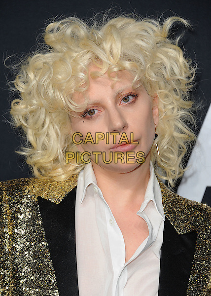 HOLLYWOOD, CA - FEBRUARY 10:  Lady Gaga at Saint Laurent at The Palladium at the Hollywood Palladium on February 10, 2016 in Hollywood, California. <br /> CAP/MPI/PGSK<br /> &copy;PGSK/MPI/Capital Pictures