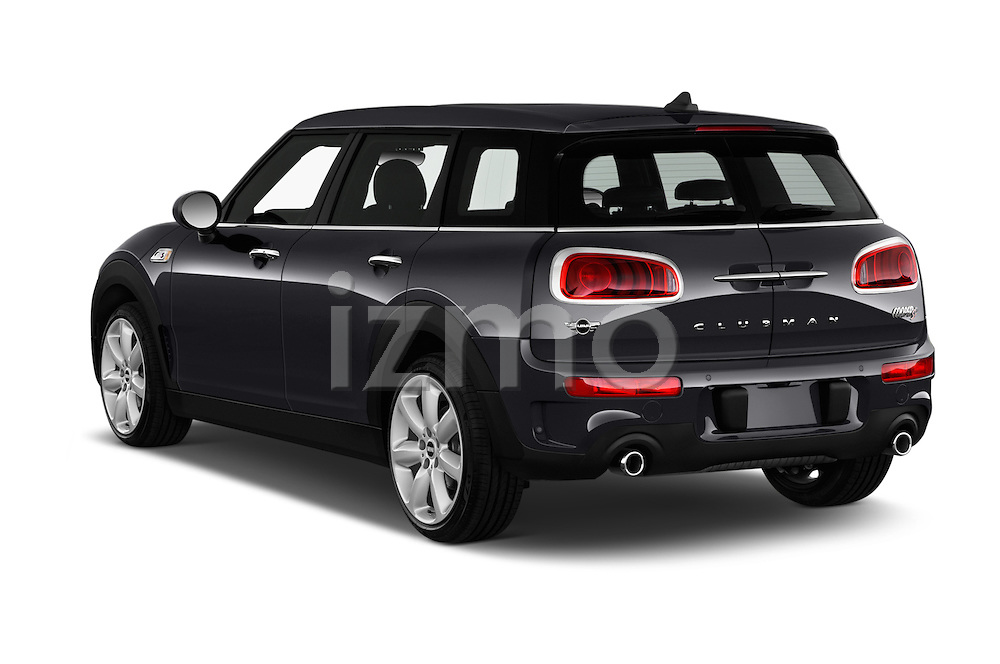 Car pictures of rear three quarter view of 2016 MINI Clubman Cooper-SD 5 Door wagon Angular Rear
