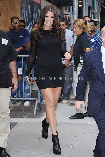 WWW.ACEPIXS.COM . . . . . ....August 13 2009, New York City....TV personality Khloe Kardashain, going into a TV show in Manhattan on August 13 2009 in New York City....Please byline: KRISTIN CALLAHAN - ACEPIXS.COM.. . . . . . ..Ace Pictures, Inc:  ..(212) 243-8787 or (646) 679 0430..e-mail: picturedesk@acepixs.com..web: http://www.acepixs.com