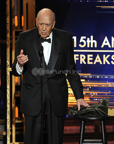 BEVERLY HILLS, CA - APRIL 11: Carl Reiner appears the 2015 TV Land Awards at the Saban Theater on April 11, 2015 in Beverly Hills, California. FMPG/MediaPunch