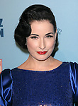 Dita Von Teese attends Perez Hilton's Blue Ball held at Siren Studios in West Hollywood, California on March 26,2011                                                                               © 2010 DVS / Hollywood Press Agency
