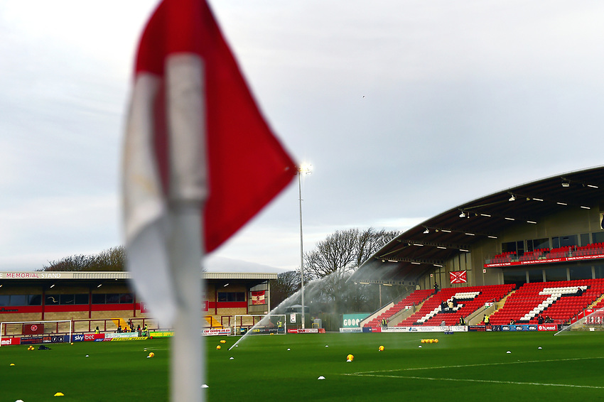 A general view of Highbury Stadium, home of Fleetwood Town FC<br /> <br /> Photographer Richard Martin-Roberts/CameraSport<br /> <br /> The EFL Sky Bet League One - Fleetwood Town v Portsmouth - Saturday 29th December 2018 - Highbury Stadium - Fleetwood<br /> <br /> World Copyright © 2018 CameraSport. All rights reserved. 43 Linden Ave. Countesthorpe. Leicester. England. LE8 5PG - Tel: +44 (0) 116 277 4147 - admin@camerasport.com - www.camerasport.com
