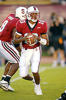 Chris Lewis during Stanford's 63-26 win over San Jose State on September 14, 2002 at Stanford Stadium.<br />