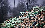 S&ouml;dert&auml;lje 2014-04-07 Fotboll Superettan Assyriska FF - Hammarby IF :  <br /> Hammarby supportrar med halsdukar p&aring; S&ouml;dert&auml;lje Fotbollsarena<br /> (Foto: Kenta J&ouml;nsson) Nyckelord:  Assyriska AFF S&ouml;dert&auml;lje Hammarby HIF Bajen supporter fans publik supporters