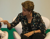 BRASILIA, DF, 03.11.2015 - DILMA-CONSEA- A presidente Dilma Rousseff, participa da abertura da 5ª Conferência Nacional de Segurança Alimentar e Nutricional (Consea), no Centro de Convenções Ulysses Guimarães, nesta terça-feira, 03.(Foto:Ed Ferreira / Brazil Photo Press)