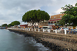 The town of Lahaina, Maui, Hawaii, USA