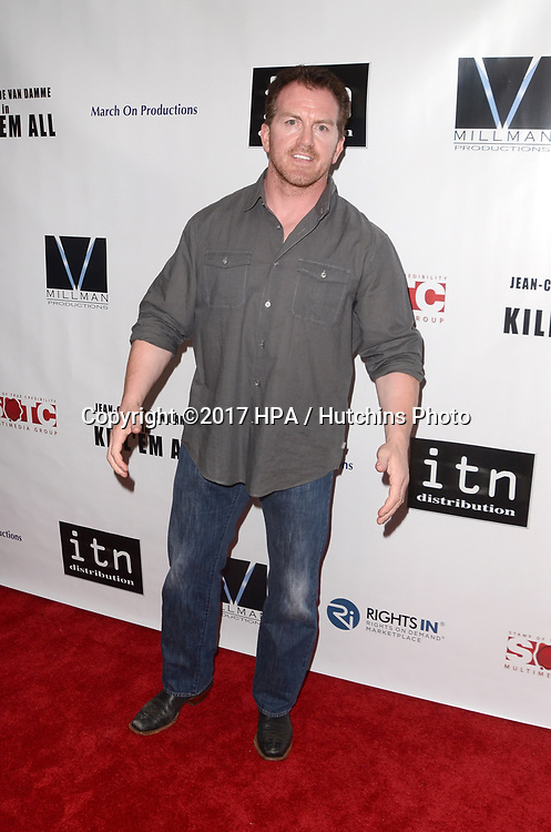 """LOS ANGELES - JUN 6:  James Bennett at the """"Kill 'Em All"""" Premiere at the Harmony Gold Theater on June 6, 2017 in Los Angeles, CA"""
