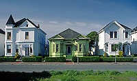 Historic OLD TOWN EUREKA has many fine homes dating into the last century - EUREKA, CALIFORNIA