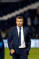 Slavisa Jokanovic manager of Fulham seen during the Sky Bet Championship match between Fulham and Hull City at Craven Cottage, London, England on 13 September 2017. Photo by Carlton Myrie.