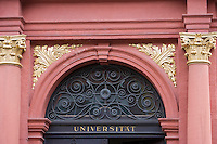 Europe/Allemagne/Bade-Würrtemberg/Heidelberg: Portail de l'ancienne université