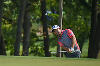Padraig Harrington (IRL) chips on to 9 during 2nd round of the 100th PGA Championship at Bellerive Country Club, St. Louis, Missouri. 8/11/2018.<br /> Picture: Golffile | Ken Murray<br /> <br /> All photo usage must carry mandatory copyright credit (© Golffile | Ken Murray)