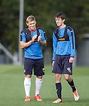 Martyn Waghorn and Ryan Hardie