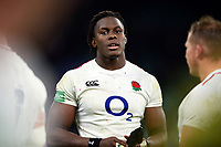 Maro Itoje of England looks on after the match. Quilter International match between England and Australia on November 24, 2018 at Twickenham Stadium in London, England. Photo by: Patrick Khachfe / Onside Images